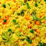 Ingredients for fried rice recipe And Nigerian Rice