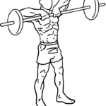 Barbell-upright-rows-1