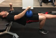 single-leg hip thrust with shoulders on bench alternative