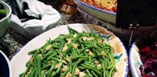 Green Bean Almondine Casserole