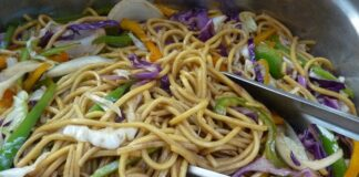Ground Beef Chow Mein Recipes and Calories
