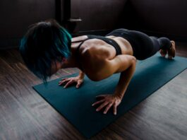 How many calories do planks burn per minute