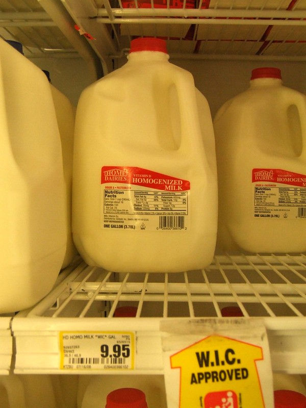 How long can you keep milk that hasn't been opened? (3 different types of milk)