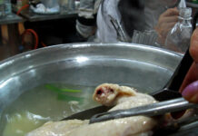 What is the best way to boil chicken for dogs?