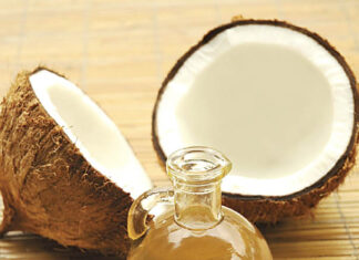 How can you remove coconut oil from your hair?