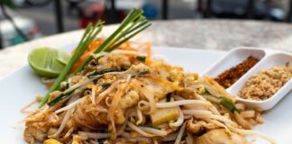 What does Pad imply in Thai cuisine?